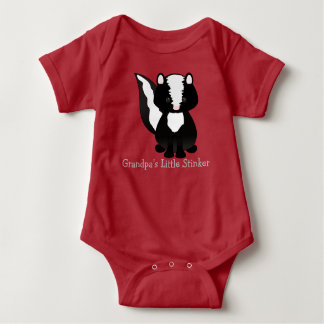Personalized Little Stinker Baby Bodysuit