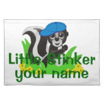 Personalized Little Stinker Boy Placemat