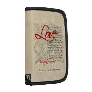 Personalized Love Bible Verse Christian Organizer