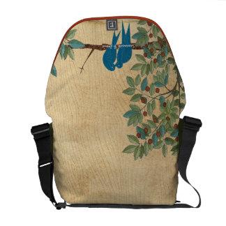 Personalized Love Bird Honeymoon Messenger Bags