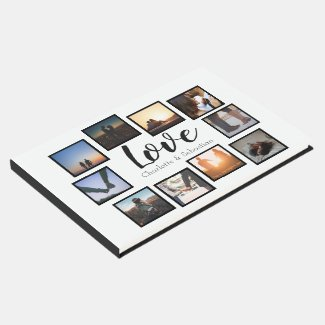 Personalized Love Photo Wedding Guest Book
