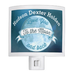 Personalized Love You to the Moon and Back Night Light