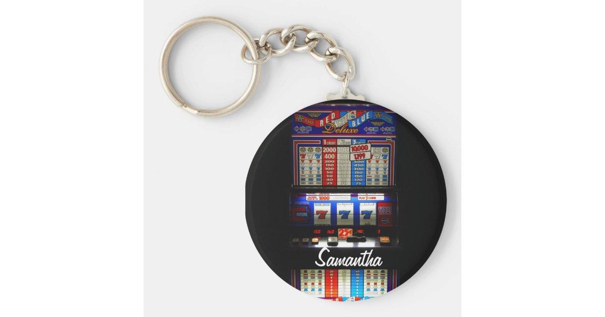 slot machine keychain