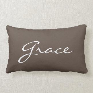 Personalized Lumbar Throw Pillow