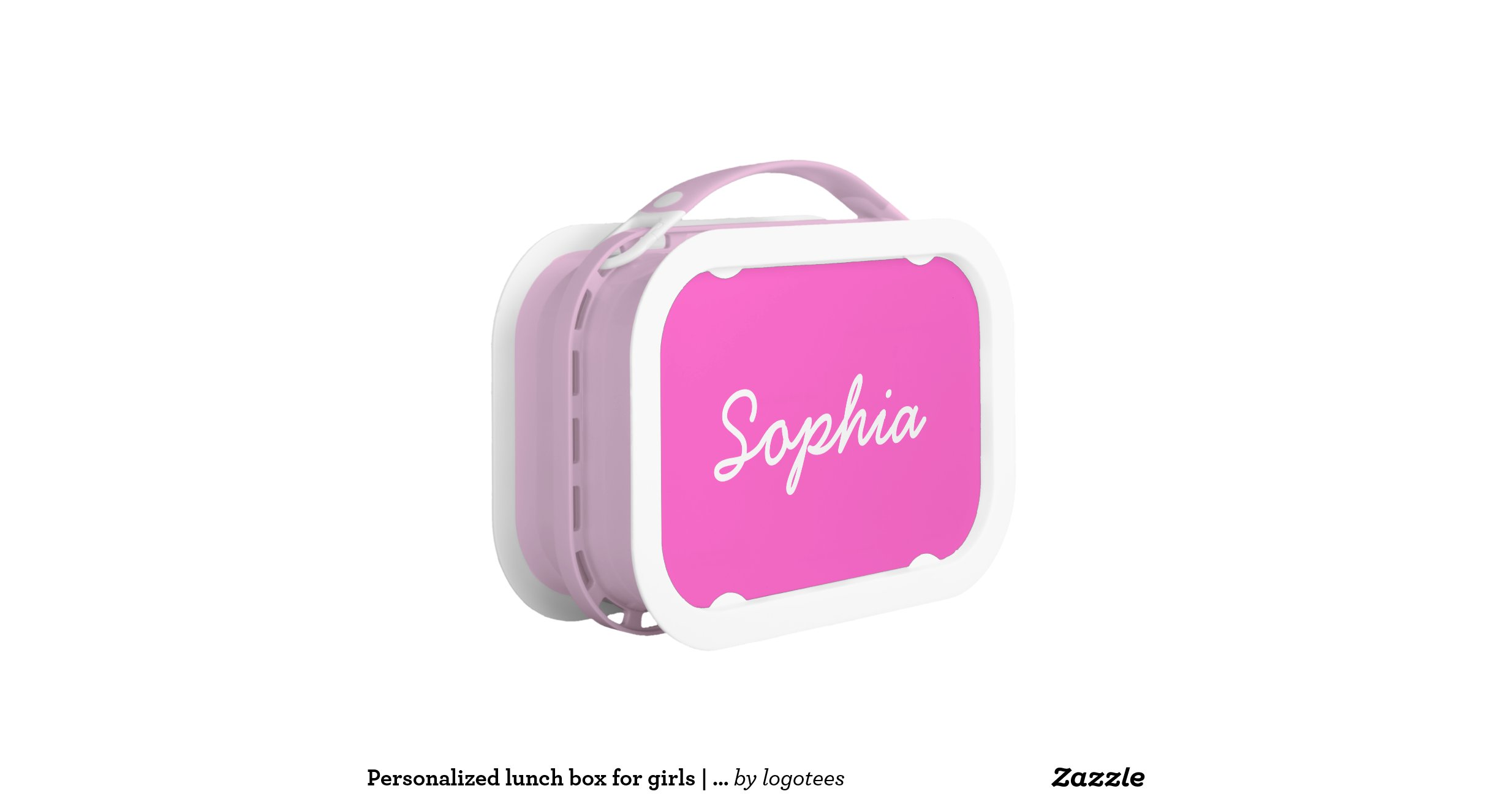Personalizedlunchboxforgirlspink