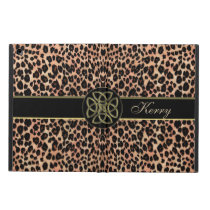 Personalized Lush Celtic Leopard iPad Pro Case