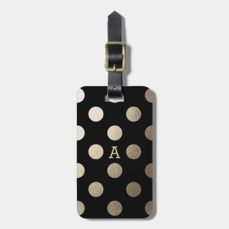Personalized | Luxe Dots Luggage Tag