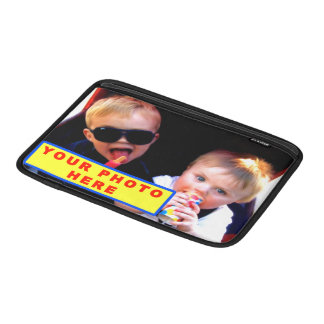 Personalized MacBook Air Case with YOUR PHOTO MacBook Air Sleeves