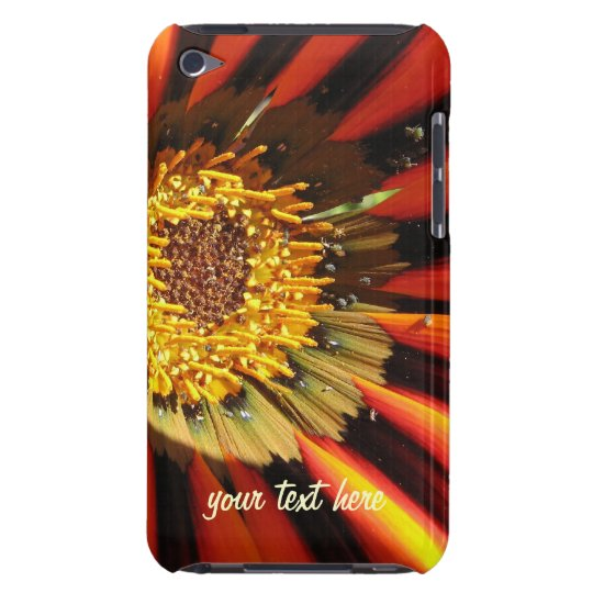 Personalized macro flower iPod touch Case-Mate Cas Barely There iPod Cover