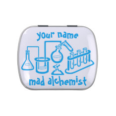 Personalized Mad Alchemist Jelly Belly Tin at Zazzle