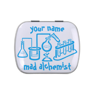 Personalized Mad Alchemist Jelly Belly Tin