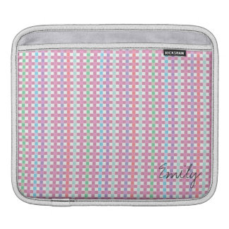 Personalized Make you day colorful IPad Pad iPad Sleeve