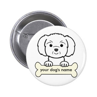 Personalized Maltese Pins