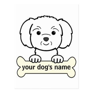 Personalized Maltese Post Card