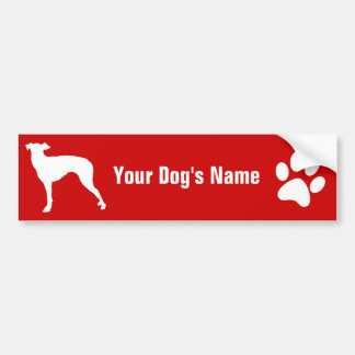 Personalized Manchester Terrier マンチェスター・テリア Bumper Sticker