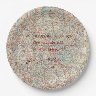 Personalized Map Plates