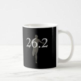 Personalized Marathon Runner 26.2 Keepsake Black Coffee Mug