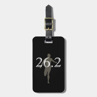 Personalized Marathon Runner 26.2 Keepsake Tag For Luggage