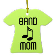 Personalized Marching Band Mom Music Gift Christmas Ornament