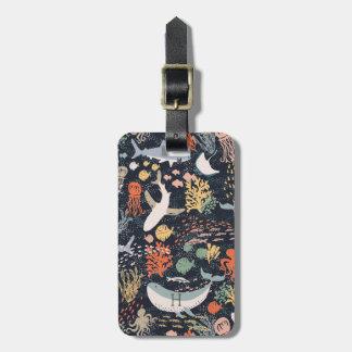 Personalized | Marine Life Bag Tag
