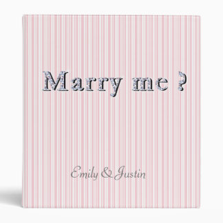 Personalized Marry Avery Signature Binder