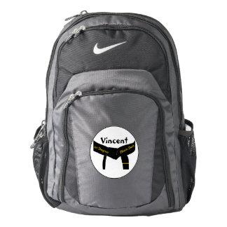 Personalized Martial Arts 1st Degree Black Belt Nike Backpack
