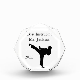 Personalized Martial Arts Award