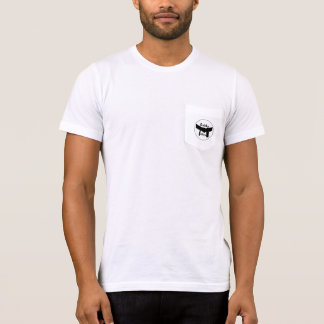 Personalized Martial Arts Basic Black Belt T-Shirt
