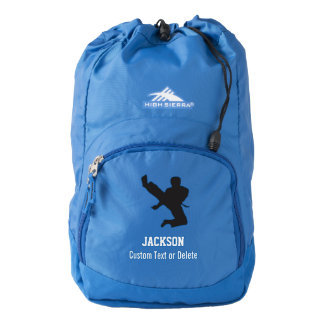 Personalized Martial Arts Karate Custom Name Backpack