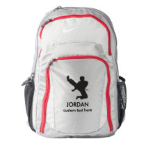 Personalized Martial Arts Karate Custom Name Text Backpack