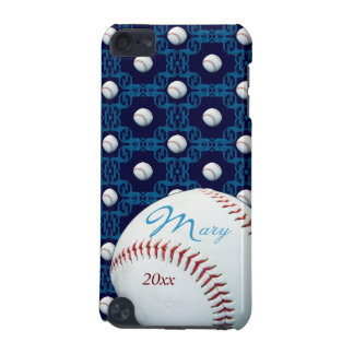 Personalized Mary Baseball Motif Ipod Touch Case