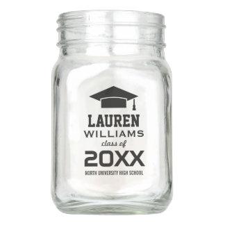 Personalized Mason Jar | Graduation Party