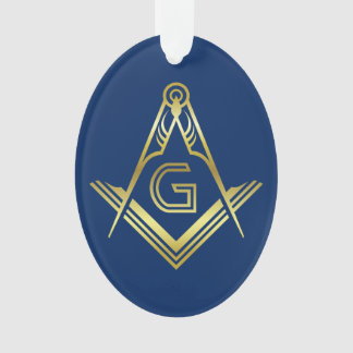 Personalized Masonic Christmas Ornaments