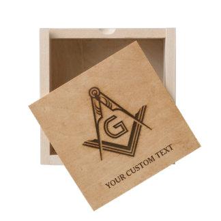 Personalized Masonic Gifts | Freemason Wooden Box