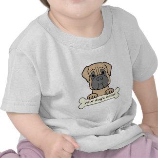 Personalized Mastiff Tee Shirt