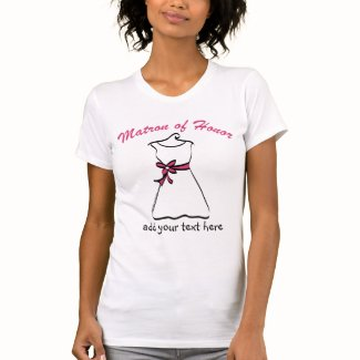 Personalized Matron of Honor Shirt