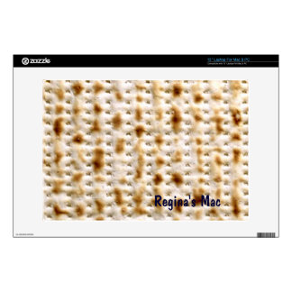 """Personalized Matzo Skin for 13"""" PC or Mac Decal For Laptop"""