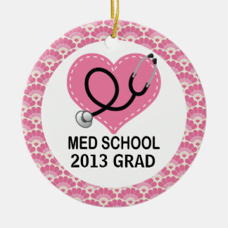 Personalized Med School Graduate Ornament