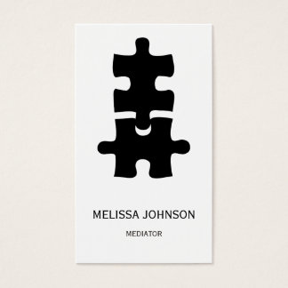 Personalized Mediator Business Cart Business Card