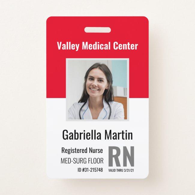 Employee Badges Template Custom Photo Id Cards