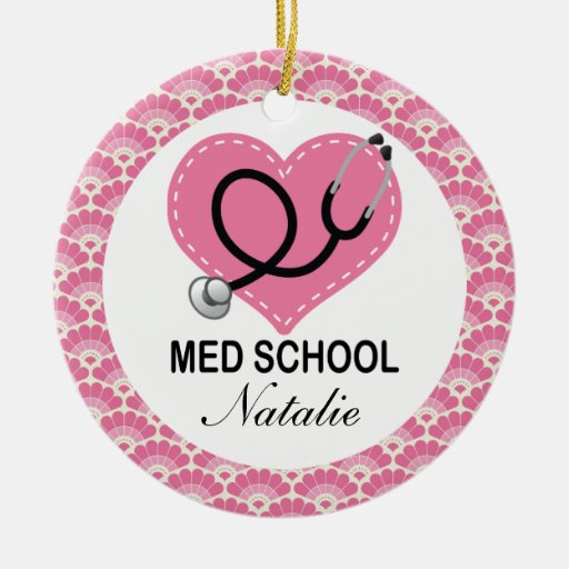 Personalized Medical School Graduate Ornament