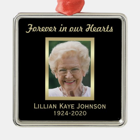 Personalized Memorial Christmas Ornaments - Personalized Memorial Christmas Ornaments Zazzle.com