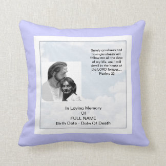 Personalized Memorial Pillow