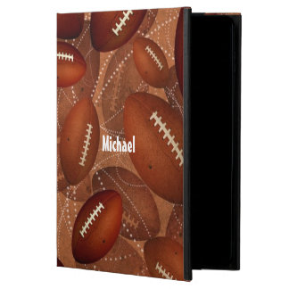 personalized men's football powis iPad air 2 case