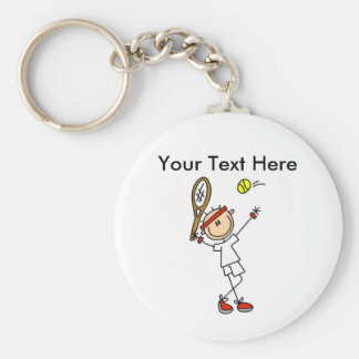 Personalized Men's Tennis Gifts Keychain