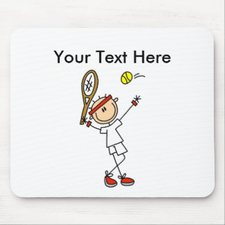 Personalized Men's Tennis Gifts Mouse Pad