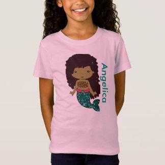 Personalized Mermaid Girl's shirt