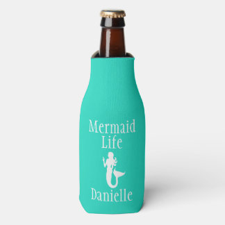 Personalized Mermaid Life Bottle Cooler