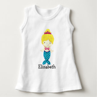 Personalized Mermaid Princess T-Shirt