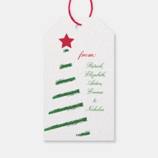 Personalized Merry Chrismas from Pack Of Gift Tags